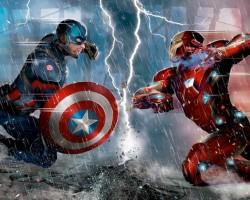 Nova capa da revista Empire foca na guerra entre Homem de Ferro e Capitão América