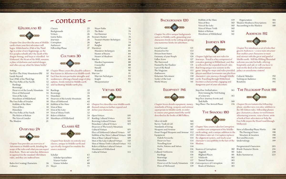 rpg lançado o pdf de aventuras na terra média o cenário de