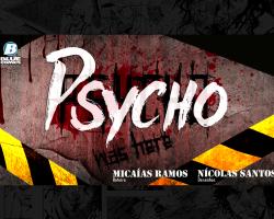 Psycho é o próximo lançamento da Blue Comics!